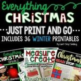 2nd Grade Christmas Activities Bundle:  Christmas Writing