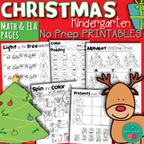 Christmas Activities for Kindergarten