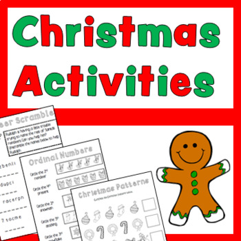 Christmas Activities No Prep!