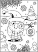 Christmas Activities: Owl Find the Differences and Coloring Page