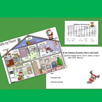 Christmas Activities Pack- 15 pages of Christmas activities/lessons