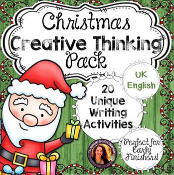 Christmas Activities Pack- UK English Version
