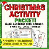 Christmas Activities Packet for Preschool, Kindergarten, 1