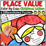 Christmas Activities Place Value Worksheets | Place Value