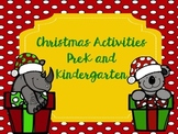 Christmas Activities Pre-K and Kindergarten