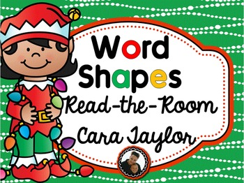 Christmas Activities ~ Read the Room