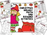 Christmas Activities: Reading & Math