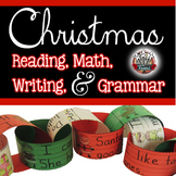 Christmas Activities: Reading, Math, Writing, Grammar