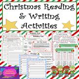Christmas Activities * No-Prep ELA Activities, Writing Pro