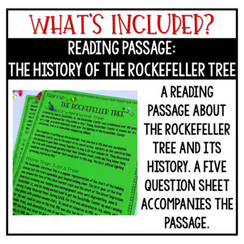 Christmas Activities Christmas Math Activities Rockefeller Tree STEM Challenge