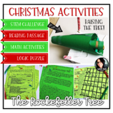Christmas Activities Rockefeller Tree STEM Challenge, Math