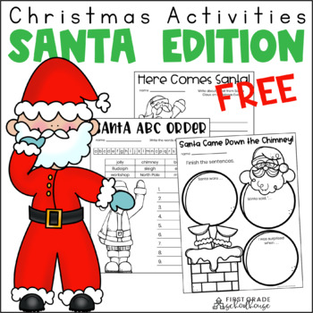 Christmas Activities Santa Edition