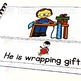 Christmas Activities | Sentence Matching Adapted Book for Special Education