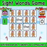 Christmas Activities Sight Words Gingerbread Man Memory Ga