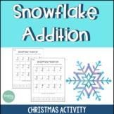 Christmas Activities   Snowflake Addition
