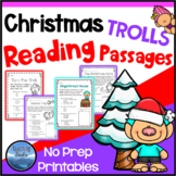Christmas Activities: TROLLS Christmas Reading Comprehension Passages