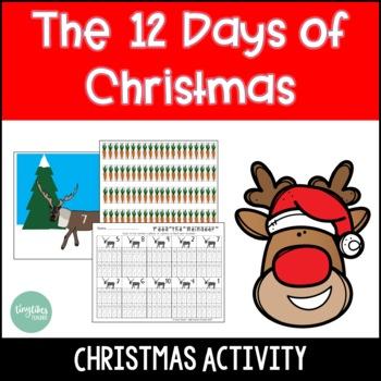 Christmas Activities | Twelve Days of Christmas | Day 1