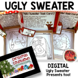 Christmas Task Cards: 9 Ugly Sweater Presents