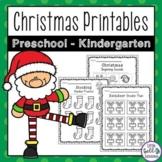 Christmas Activities for Preschool and Kindergarten