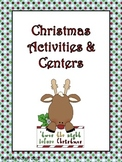 Christmas Activities and Centers