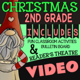 2nd Grade Christmas Around the World ★ Christmas Reading Activities & Video