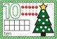 Christmas Activities for Kindergarten! Play Dough Mats! Counting 1-10!