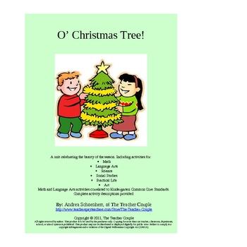 Christmas Activities for Kindergarten and Preschool: O Christmas Tree