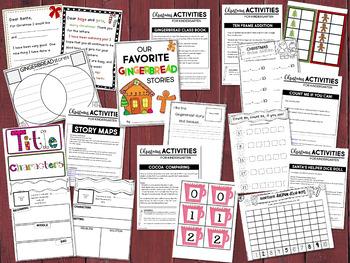 Christmas Activities for Kindergarten