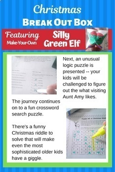 Christmas Activities for Middle School - Christmas Escape Room - Breakout