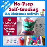 Christmas Activities for Middle School | ELA Activities |
