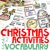 Christmas Activities Academic Vocabulary