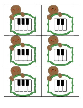 Christmas Activities for Young Beginner Piano Students