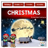Christmas Activities, Christmas Writing Activities & Flip Book