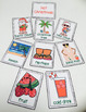 Christmas Activities with Word Wall Vocabulary Cards