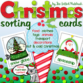 Christmas Activities with Word Cards