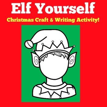 Christmas Writing | Elf Craftivity | Christmas Writing Activity