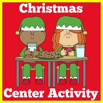 Kindergarten Reading Center | Christmas Reading Center for Kindergarten