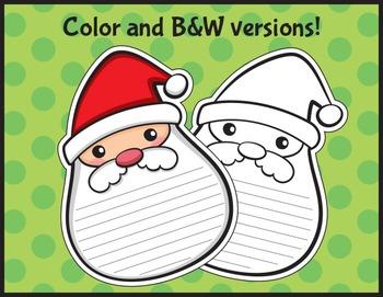 Holiday Activites - Christmas Activities - Christmas Writing - Free