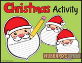 FREEBIE!  Holiday Activites - Christmas Activities - Christmas Writing - Free