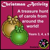 Christmas Activity: A Treasure Hunt of Carols from around