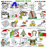 Christmas Song Puzzle PDF - Bill Burton