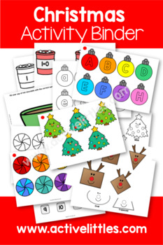 Christmas Activity Binder