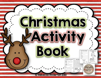 Christmas Activity Book Freebie!