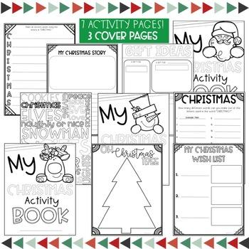 Christmas Activity Book Freebie