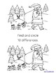 Christmas Activity Book - Mazes, Puzzles, Coloring Pages and More!