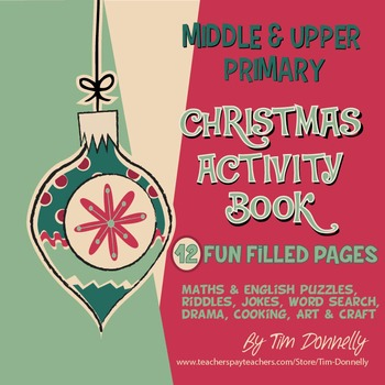 Christmas Activity Book - Middle and Upper Primary