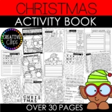 Christmas Activity Book and Coloring Pages {Made by Creative Clips Clipart}