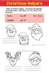 Christmas Activity Book, writing prompts, reading comprehension