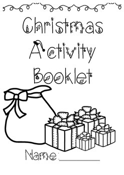 Daily 5 Christmas Activity Booklet