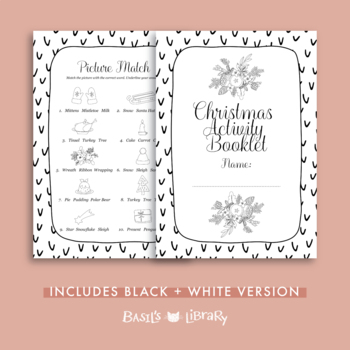 Christmas Activity Booklet